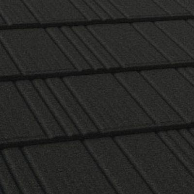 Черепица Робуст цвет Черный бриллиант (17) AeroDek.