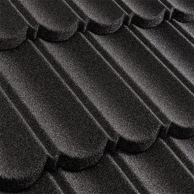 Композитная черепица Metrotile (Бельгия) MetroBond черная