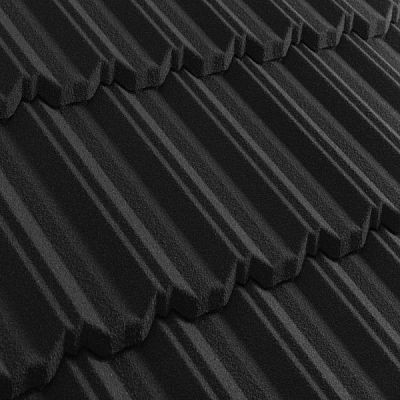 Композитная черепица Metrotile (Бельгия) MetroClassic черная
