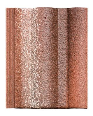 Цементно-песчаная черепица Braas (Венгрия) Адриа цвет красный