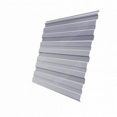 Профнастил С10 Grand Line Satin, цвет RAL 7004 серый