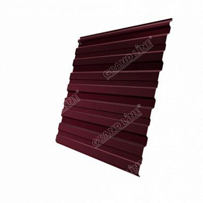 Профнастил С10 Grand Line Atlas, цвет RAL 3005 красное вино