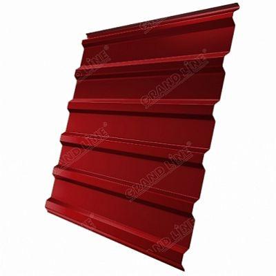 Профнастил С20 Grand Line PE, цвет RAL 3003 красный рубин