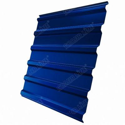 Профнастил С20 Grand Line Satin, цвет RAL 5005 синий насыщенный