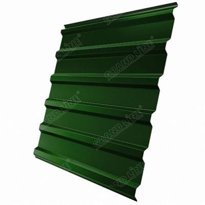 Профнастил С20 Grand Line PE, цвет RAL 6002 зеленый лист