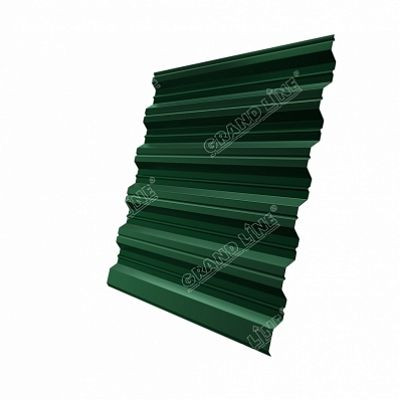 Профнастил С35 Grand Line Atlas, цвет RAL 6005 зеленый мох