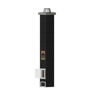 Керамическиий дымоход Schiedel Uni D 30 см, 12 п.м. одноходовой