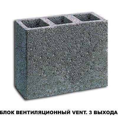Шидель Вент 52 х 25 см, 4 п.м. трехходовой комплект вент. блоков