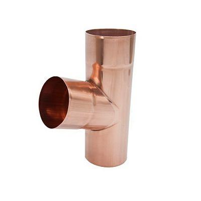 Тройник трубы «Аквасистем» 100x150 медь