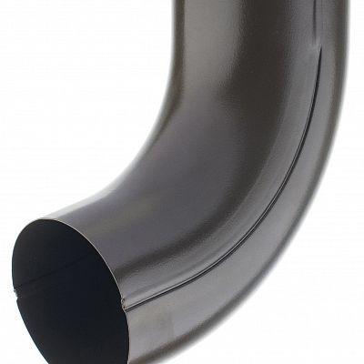 Колено универсальное 72° «Аквасистем» 100x150 цвет коричневый RAL 8017
