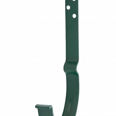 Крюк крепления желоба длинный «Аквасистем» 90x125 цвет зелёный RAL 6005
