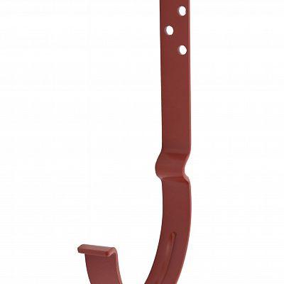 Крюк крепления желоба длинный «Аквасистем» 90x125 цвет красный RR 29