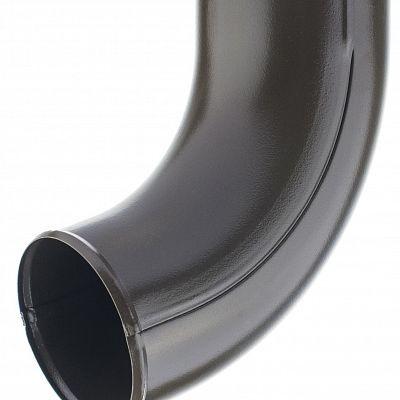 Отвод трубы «Аквасистем» 90x125 цвет коричневый RAL 8017