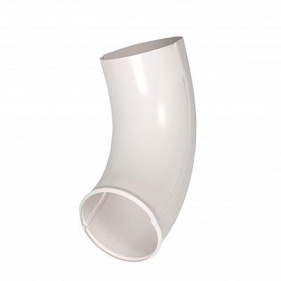 Отвод трубы «Аквасистем» 90x125 цвет белый RR 20
