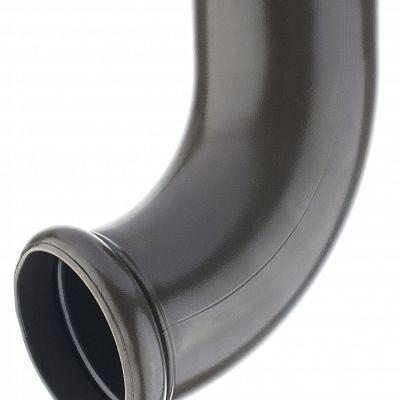 Отвод трубы декорированный «Аквасистем» 100x150 цвет темно-коричневый RR 32