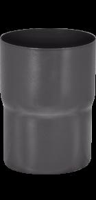 Соединитель трубы «Аквасистем» 90x125 цвет темно-серый RR 23