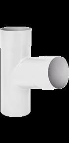 Тройник «Аквасистем» 100x150 цвет белый RR 20