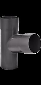 Тройник «Аквасистем» 90x125 цвет темно-серый RR 23
