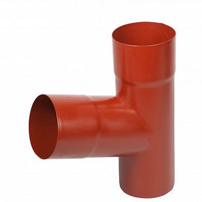 Тройник «Аквасистем» 90x125 цвет красный RR 29