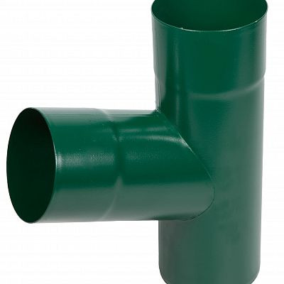 Тройник «Аквасистем» 90x125 цвет зелёный RAL 6005
