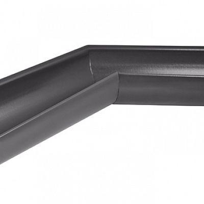 Угол желоба наружный 135° «Аквасистем» 100x150 цвет темно-серый RR 23