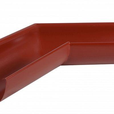 Угол желоба наружный 135° «Аквасистем» 90x125 цвет красный RR 29