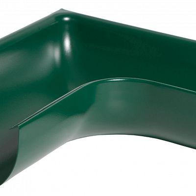 Угол желоба наружный 90° «Аквасистем» 100x150 цвет зелёный RAL 6005