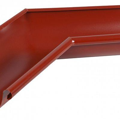 Угол желоба внутренний 135° «Аквасистем» 90x125 цвет красный RR 29