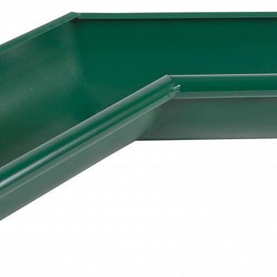 Угол желоба внутренний 135° «Аквасистем» 90x125 цвет зелёный RAL 6005