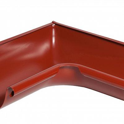 Угол желоба внутренний 90° «Аквасистем» 100x150 цвет красный RR 29