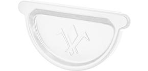 Заглушка универсальная с резиновым уплотнителем «Аквасистем» 90x125 цвет белый RR 20