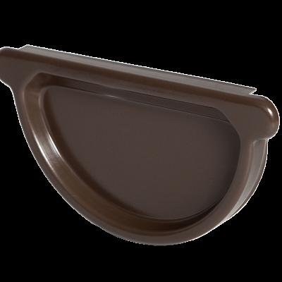 Заглушка универсальная с резиновым уплотнителем «Аквасистем» 100x150 цвет темно-коричневый RR 32