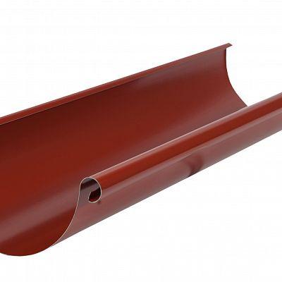 Желоб водосточный Аквасистем 90x125 цвет красный RR 29