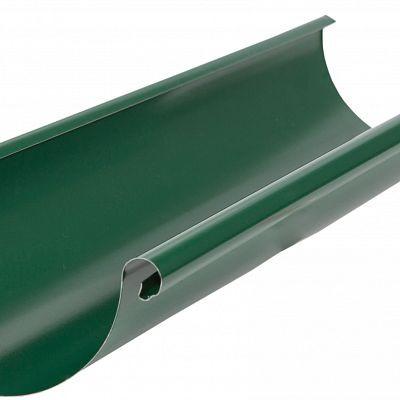 Желоб водосточный Аквасистем 90x125 цвет зелёный RAL 6005