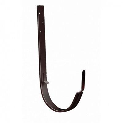 Крюк длинный 125x90 мм. Grand Line, цвет Ral 8017 коричневый шоколад