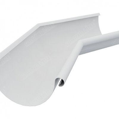 Угол желоба внутренний 135° 150x100 мм. Grand Line, цвет Ral 9003 белый