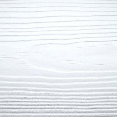 Сайдинг фиброцементный Cedral Click Wood цвета C01 белый минерал, фактура под дерево