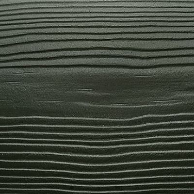 Сайдинг фиброцементный Cedral Click Wood цвета C31 зеленый океан, с фактурой под дерево