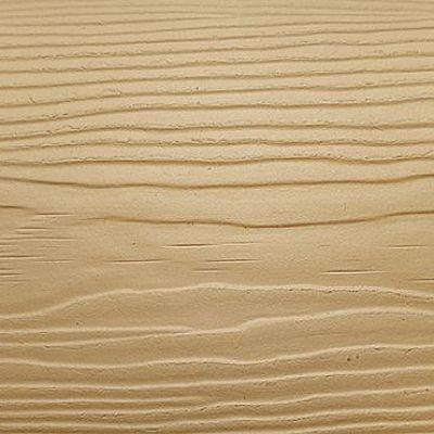 Сайдинг фиброцементный Cedral Click Wood цвета C11 золотой песок с фактурой под дерево