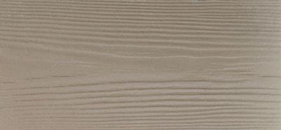 Сайдинг фиброцементный Cedral Wood цвета C14 белая глина, с фактурой под дерево