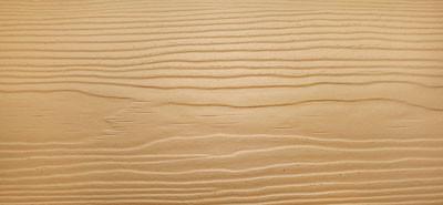 Сайдинг фиброцементный Cedral Wood цвета C11 золотой песок с фактурой под дерево