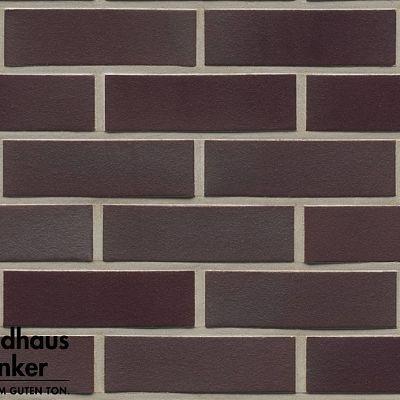 Клинкерная плитка Feldhaus Klinker (Германия) Galena R384NF14 ferrum liso