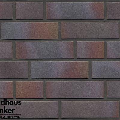 Клинкерная плитка Feldhaus Klinker (Германия) Galena R386NF14 cerasi maritim negro