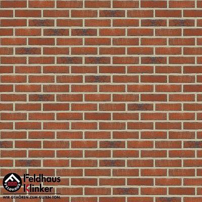 Клинкерная плитка Feldhaus Klinker (Германия) Sintra R687NF14 terracotta linguro