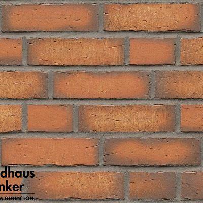 Клинкерная плитка Feldhaus Klinker (Германия) Vascu R758NF14 terracotta