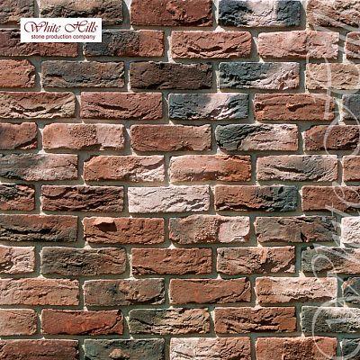 Искусственный камень White Hills «Бремен брик» 306-70