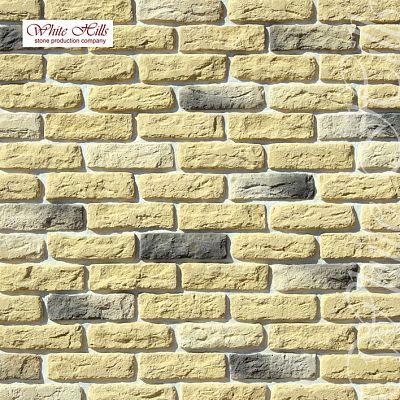 Искусственный камень White Hills «Брюгге брик» 315-30