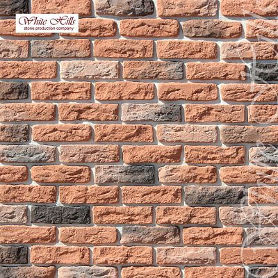 Искусственный камень White Hills «Брюгге брик» 315-50