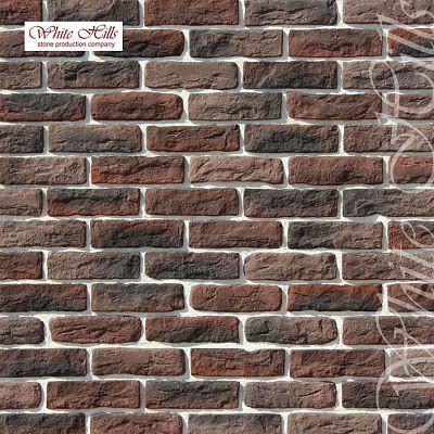 Искусственный камень White Hills «Брюгге брик» 316-40