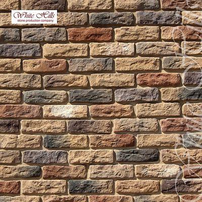 Искусственный камень White Hills «Брюгге брик» 319-40